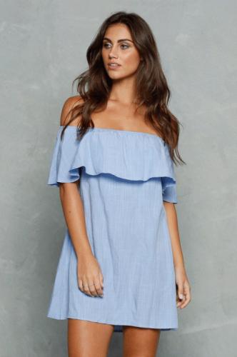 afa5b0f22f Elegancka sukienka letnia . P418 RoyalLine.pl - Moda plażowa