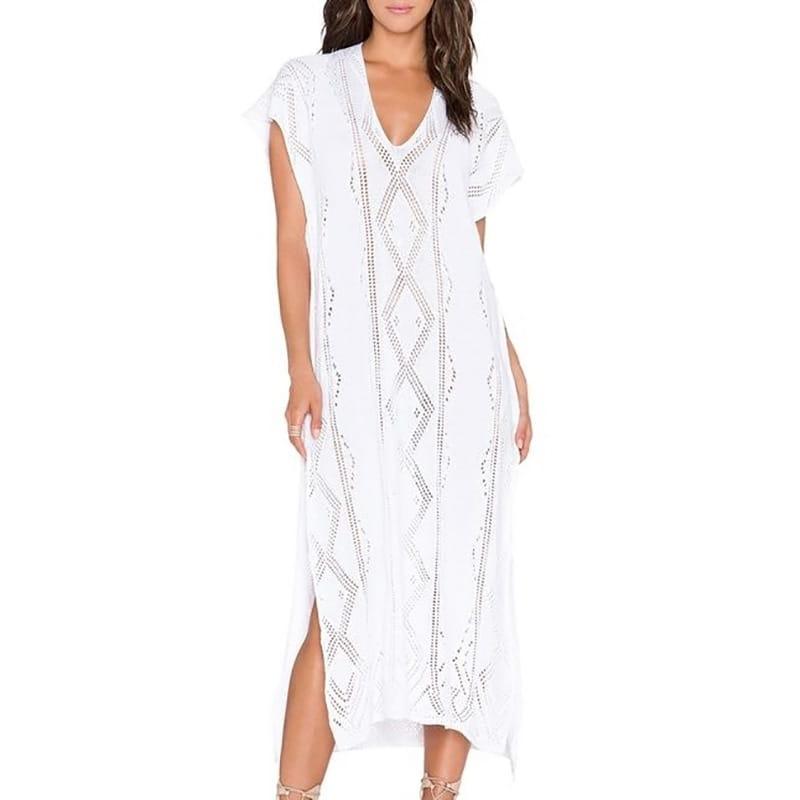 e1fff5ba08 długa sukienka plażowa.jpg  biała długa sukienka letnia. ...